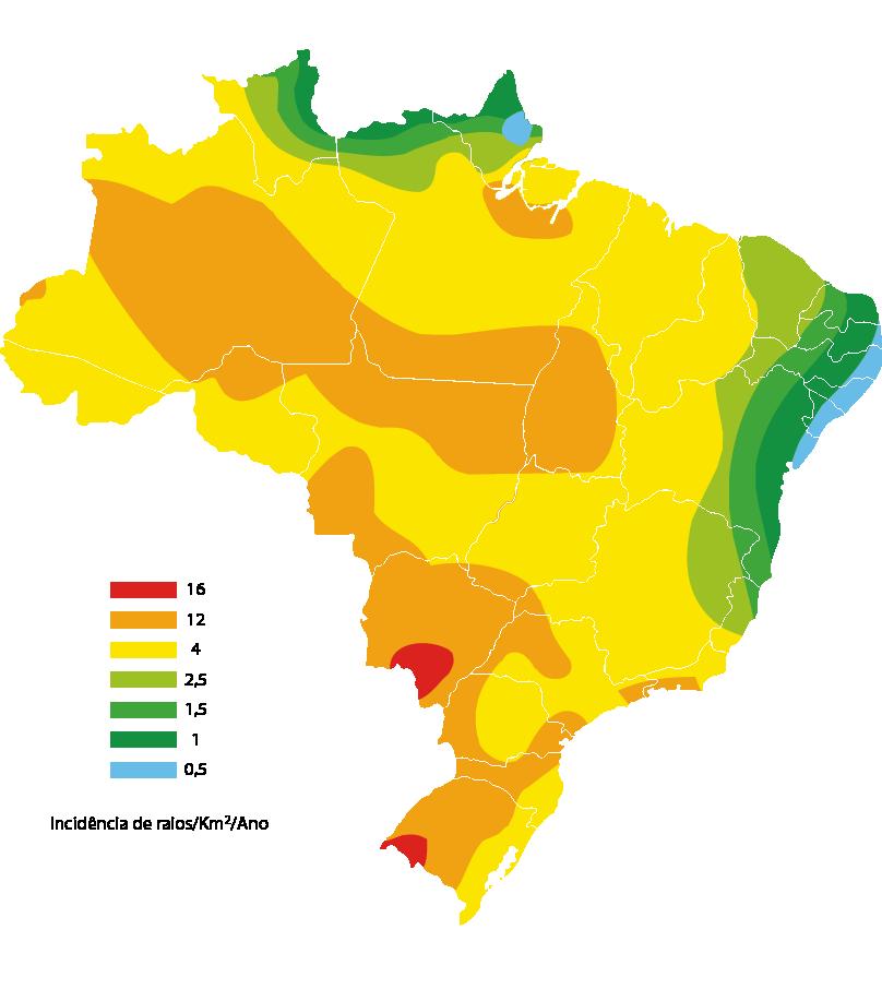 950i Mapa raios