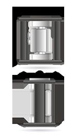 Módulo de pesagem compressão - PDX Dimensões