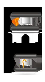 Módulo de pesagem compressão - TTB/LG Dimensões